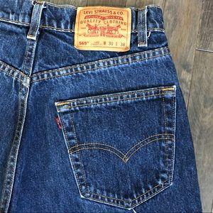 Levi's Shorts - Vintage Levi's 569 cut off jean shorts!!!